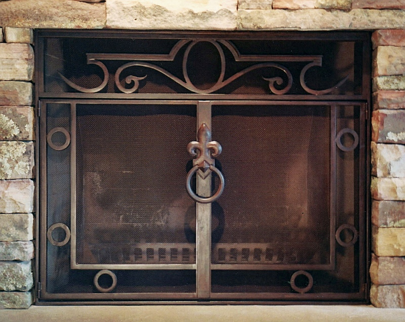 fireplace doors   accessories  ornamental ironwork by gas fireplace decorative fronts gas fireplace decorative fronts